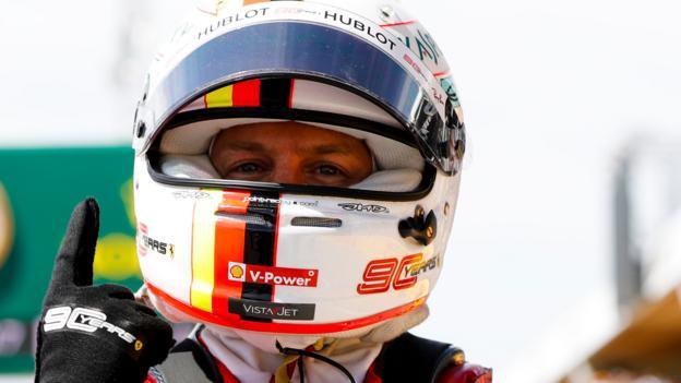 Sebastian Vettel beats Lewis Hamilton to Canada pole position thumbnail