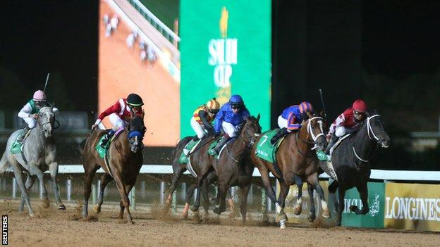 Maximum Security wins Saudi Cup