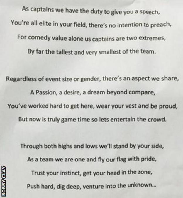 Bobby Clay's poem