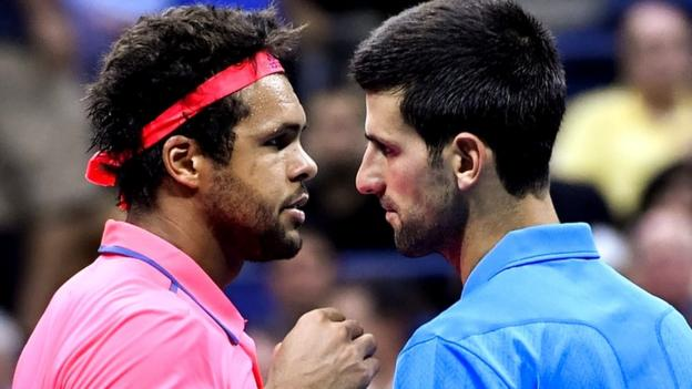 Novak Djokovic - Jo-Wilfried Tsonga