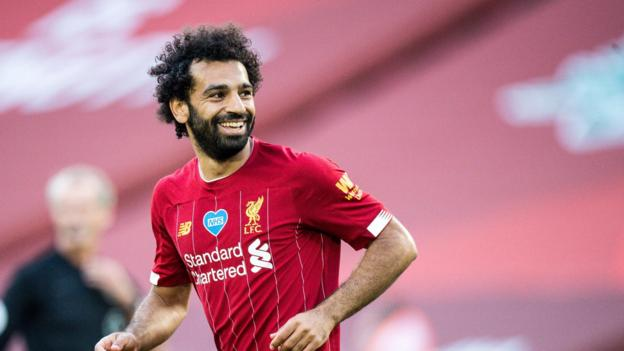 Liverpool two points from Premier League title: 'It's our time', says Mohamed Salah thumbnail