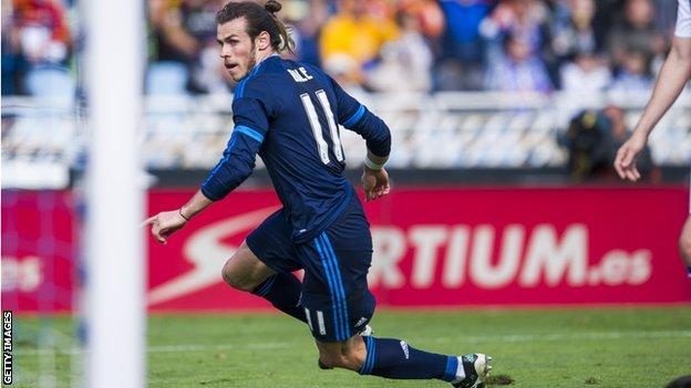Gareth Bale goal against Real Sociedad