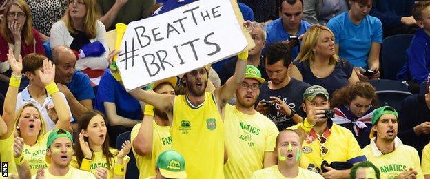 Australia's Fanatics