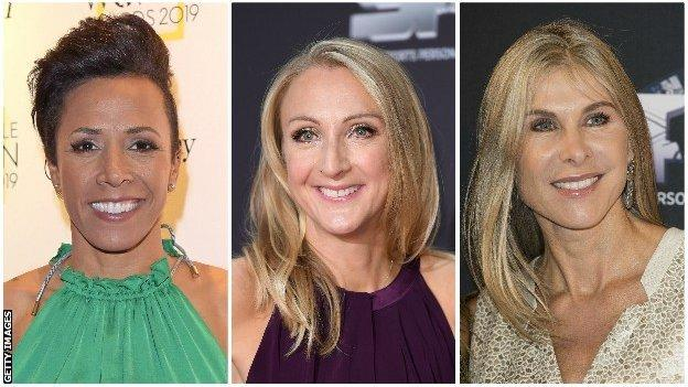 Dame Kelly Holmes, Paula Radcliffe and Sharon Davies all want more discussion on transgender athletes