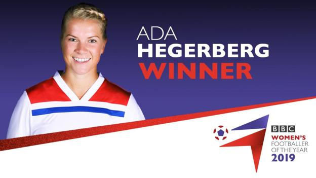 Ada Hegerberg named BBC Women's Footballer of the Year 2019 thumbnail