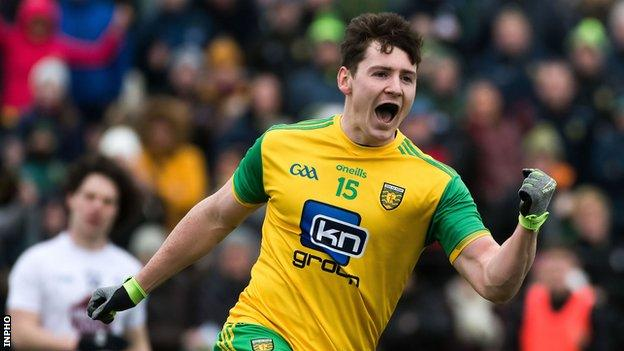 Jamie Brennan's goal helped Donegal to a 13-point win against Kildare