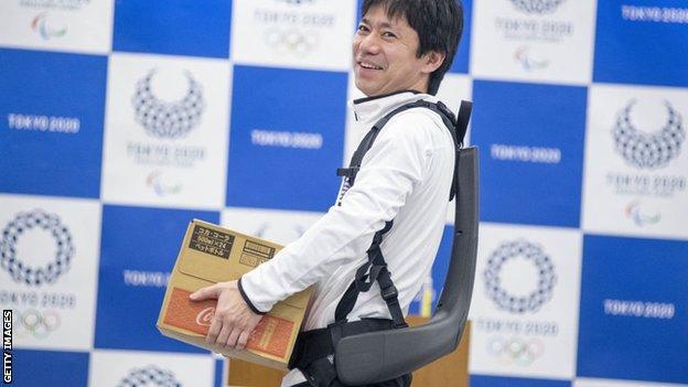 Tokyo 2020 robots