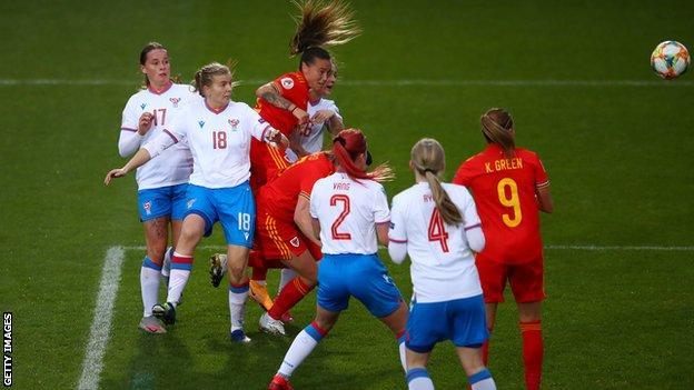 Natasha Harding's second goal