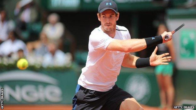 Andy Murray has not competed at the French Open since 2017, when he was beaten by Stanislas Wawrinka in the semi-finals
