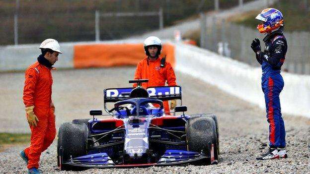 Toro Rosso's Alexander Albon