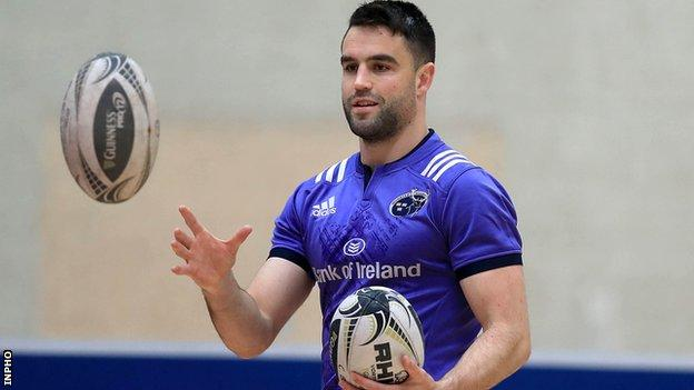 Conor Murray faces a race against time to get fit for the Lions tour of New Zealand
