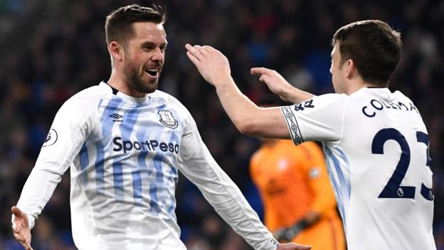 Cardiff City 0-3 Everton: Gylfi Sigurdsson scores double in Toffees' win thumbnail
