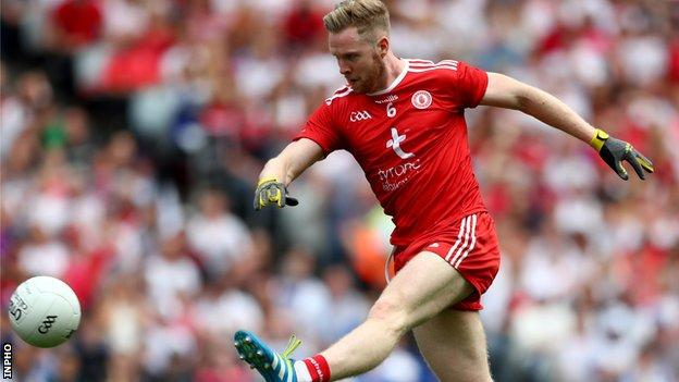Frank Burns is handed a start for the Red Hands against Ulster rivals Monaghan