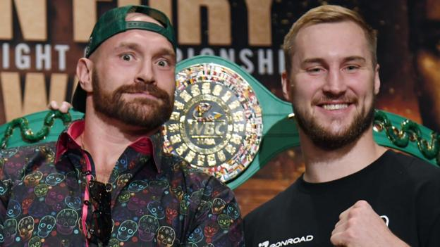 'Is Wallin knocking me out? Definitely not' - Fury ready for Swede's challenge