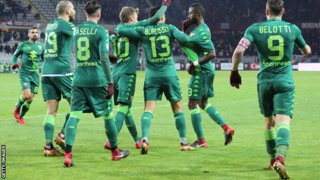 Torino green kit
