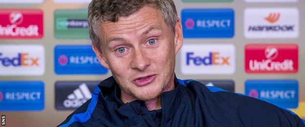 Ole Gunnar Solskjaer has returned to manage Molde