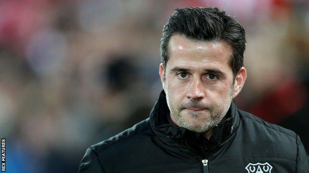 Marco Silva won 19 of his 53 Premier League games in charge of Everton