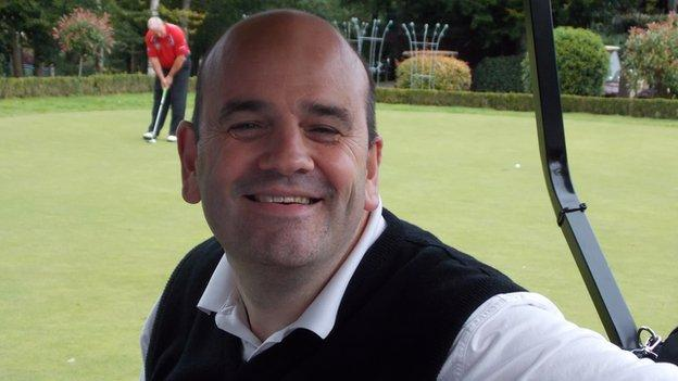 As well as golf, Graeme uses yoga, hydrotherapy and gym work to stay active