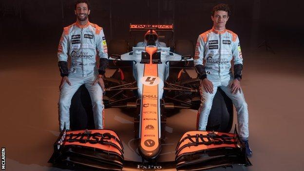 Daniel Ricciardo dan Lando Norris