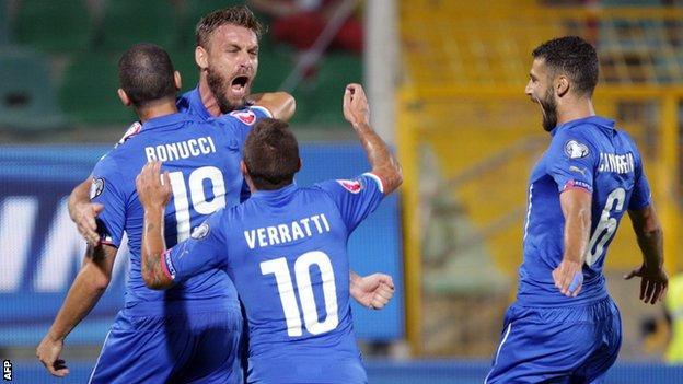 Italy v Bulgaria
