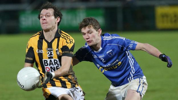Jamie Clarke in action as Crossmaglen of Armagh beat Monaghan champions Scotstown in the Ulster Club Football final in November