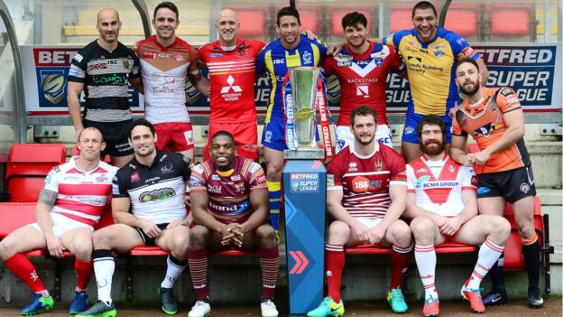 8810439cd4d Super League: The stories to follow in the 2017 season - BBC Sport