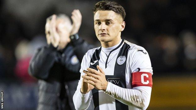 Magennis is a product of St Mirren's academy