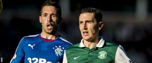 Nicky Clark and Paul Hanlon