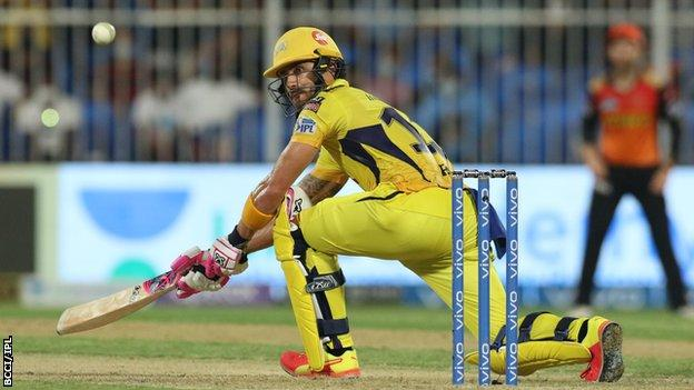 Chennai Super Kings' Faf du Plessis