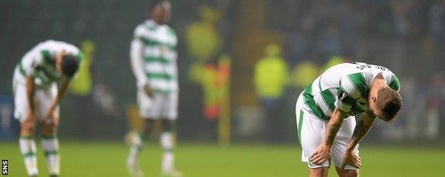 Back-to-back defeats to Molde have left Celtic bottom of Group A