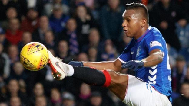 How Rangers' Alfredo Morelos shredded 10-man Kilmarnock thumbnail