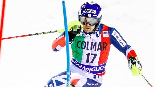 Dave Ryding's best World Cup result was second in Kitzbuhel in 2017