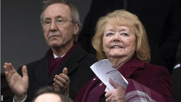 Ann Budge says Hearts will support Rangers' plans for a members resolution