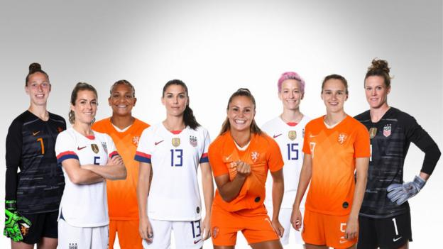 Women's World Cup 2019: Holders USA prepare to face Netherlands in final thumbnail