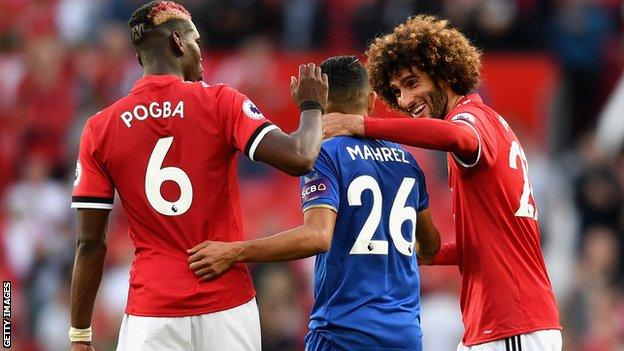 Leicester and Manchester United