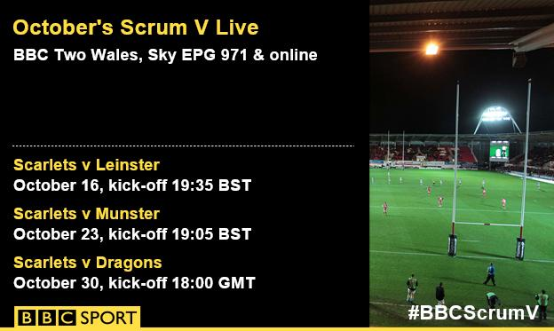 Scrum V Live October fixtures