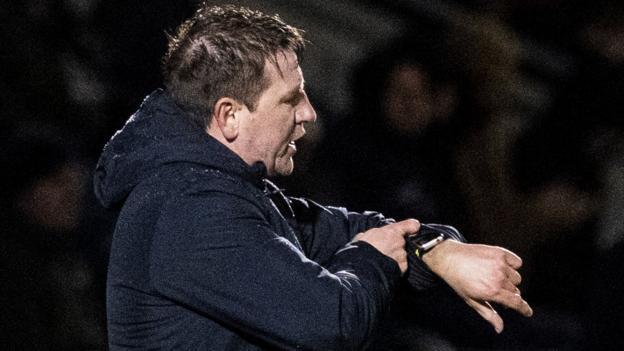 Daniel Stendel: Hearts 'maybe lost a little hope' in relegation fight thumbnail