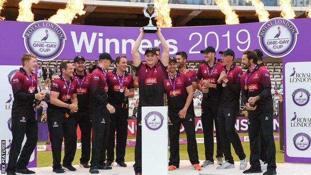 Somerset lift the 2019 One-Day Cup