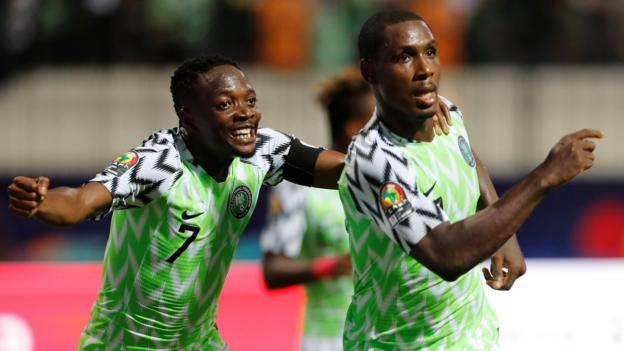 Africa Cup of Nations: Nigeria beat holders Cameroon 3-2 thumbnail
