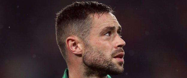 """Republic of Ireland defender Damien Delaney says he has """"no issue"""" with assistant manager Roy Keane"""