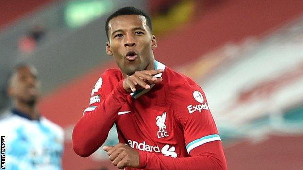 Wijnaldum won the Champions League and Premier League during his five-year spell with Liverpool