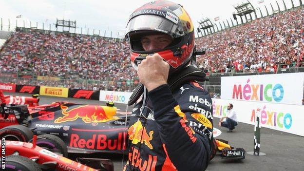 Max Verstappen of Red Bull