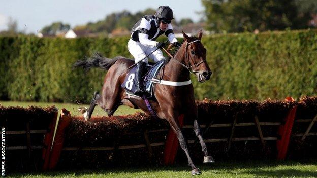 The Nicky Henderson-trained Rather Be, ridden by Andrew Tinkler, won the opening race as racing returned to Hereford for the first time in four years