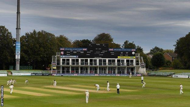 Action at the Spitfire County Ground