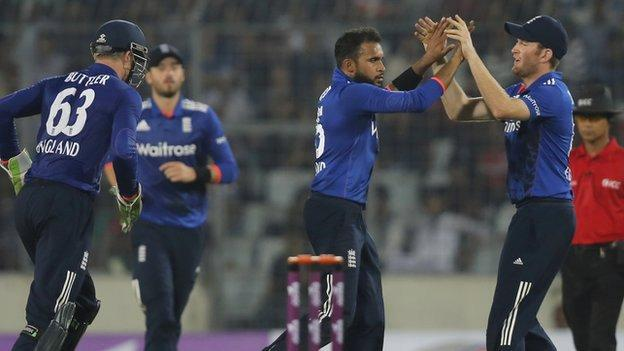 Adil Rashid now has four ODI four-wicket hauls