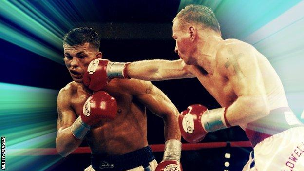 Ward (right) trained Gatti for the final fight of his career