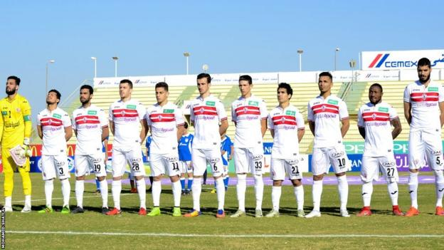 Zamalek of Egypt (They can't treat us like animals,' says football player 'duped' out of $1m)