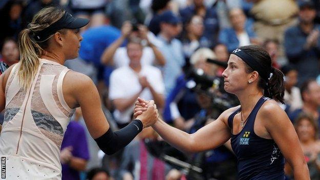 Sharapova and Sevastova