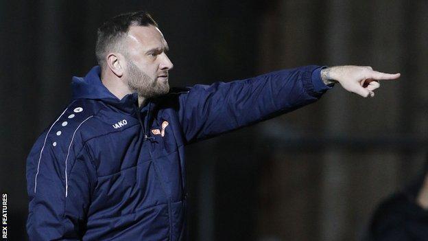 Barrow boss Ian Evatt