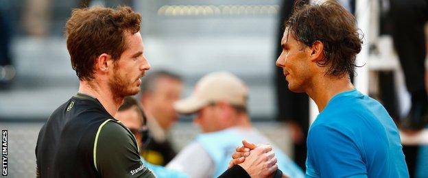 Andy Murray beat Rafa Nadal in the final of the Madrid Masters